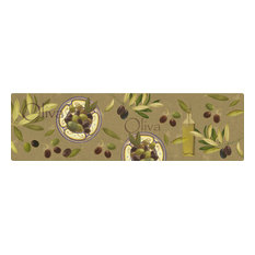 Oliva Polyamide Kitchen Rug, Large