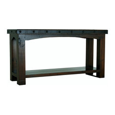 Old World Rustic Gran Hacienda Sofa Table