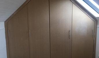 Handbuilt fitted wardrobe