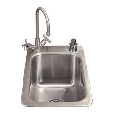 """Core Coordinating Drop-In Prep Sink, 19""""x13"""""""