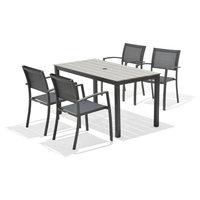 Belem 5-Piece Gray Patio Dining Set
