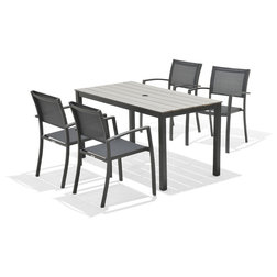 Transitional Outdoor Dining Sets by Houzz