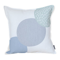 SCANDI CANDY CUSHION - MOSS/GREY/GREEN