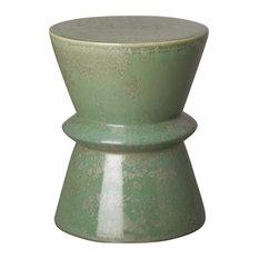 Green Speckle Zip Garden Stool