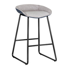 Amorina Counter Stool - Polo Club Stone / Dillon Thunder