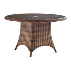 South Sea Rattan Barrington Outdoor Chat Table, Chestnut 77717