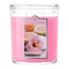 Grapefruit Hibiscus 22 oz Oval Jar Candle