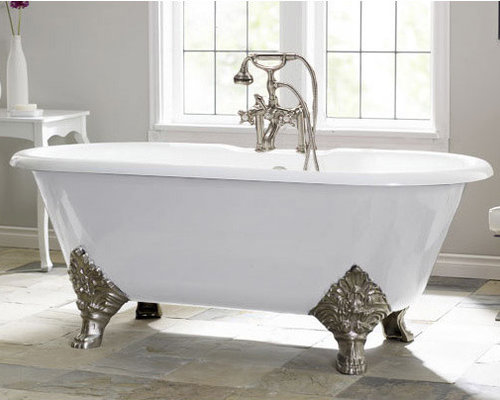 carlton by cheviot cast iron clawfoot tub bathtubs