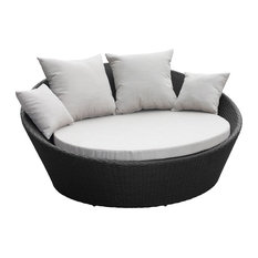 - Mimosa Denarau Day Bed With Cushions - Patio Furniture and Outdoor Furniture