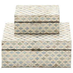 Transitional Decorative Boxes by Brimfield & May