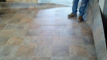Flooring we've done.