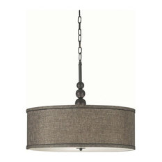 Kenroy Home 91640 Margot 3 Light Full Sized Pendant