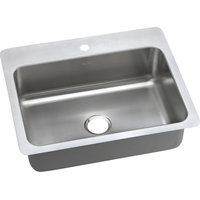 "Elkay Dayton Stainless Steel 27""x22""x8"" Dual Mount Sink DSESR127221"