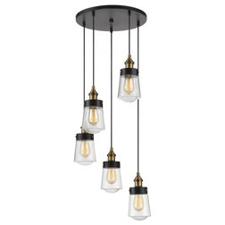 Fabulous Industrial Chandeliers by Lighting Front