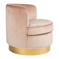 Betty Brass Base Tube Chair