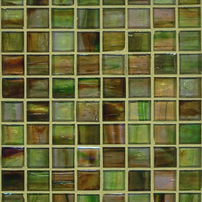 Green With Envy Glass Mosaic - Tile