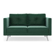 Romy Sofette Mod Velvet Jade Green