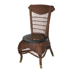 Classic Side Chair in Brown Wash