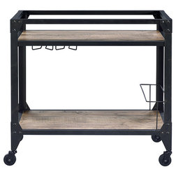Industrial Bar Carts by HomeRoots
