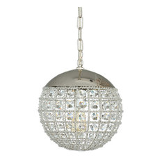 Joseph Allen - Juliette Crystal Globe Pendant Lamp - Pendant Lighting