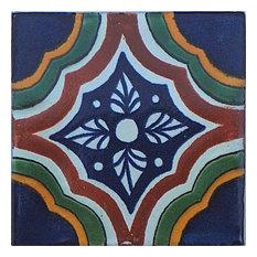 4.2x4.2 9 pcs Campania Talavera Mexican Tile