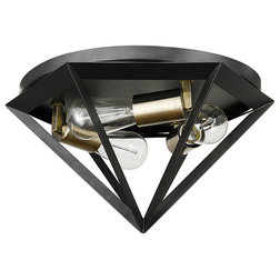Transitional Flush-mount Ceiling Lighting by Globe Electric