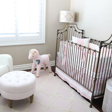 Sweet & Delicate Baby Girl's Nursery