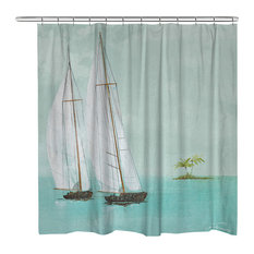 50 Most Popular Tropical Shower Curtains For 2018