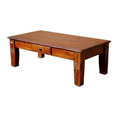 Sierra Living Concepts   Oversized Solid Wood Storage Cocktail Coffee Table    Coffee Tables