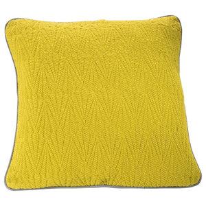 Southall Bedspread, Lime, Cushion 50x50 cm