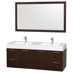 Inspirational Modern Bathroom Vanities And Sink Consoles by Luxvanity