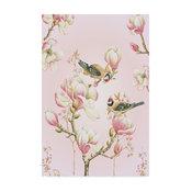 "Janneke Brinkman-Salentijn 'Magnolia Birds' Canvas Art, 19""x12"""