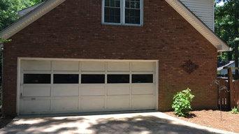 Homeowner Garage Door Update