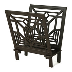 Frank Lloyd Wright Lake Geneva Magazine Rack
