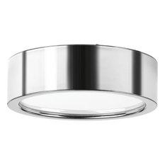 Progress Lighting Portal 1-Light, Flush Munt, Polished Chrome