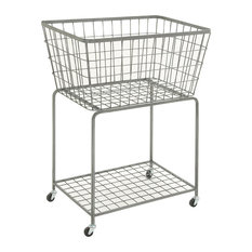 Metal Roll Storage Basket