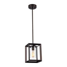 MOD - Carre Bronze Lantern Pendant Light - Pendant Lighting