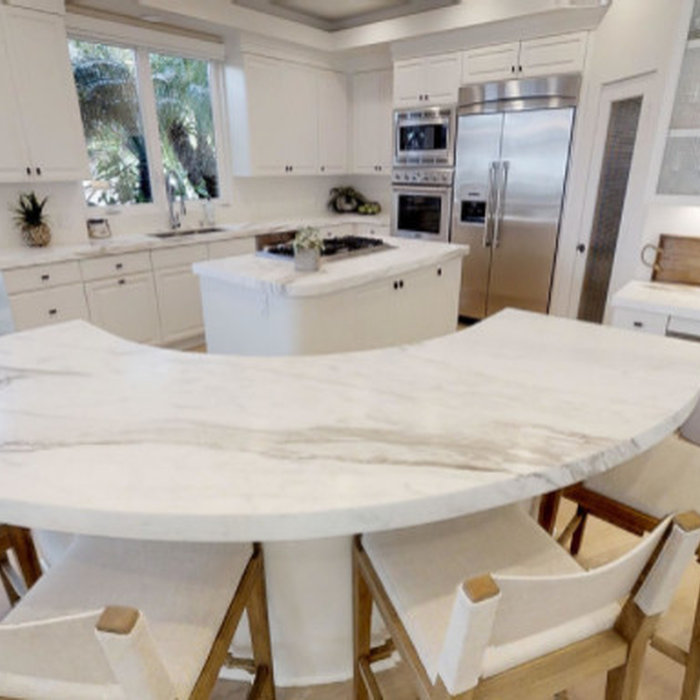San Clemente Marble Kitchen Counter