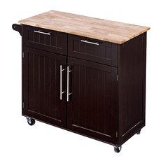 Modern Heavy Duty Utility Rolling Kitchen Cabinet Cart