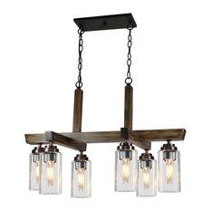 Home Glow 6-Light Chandelier