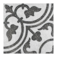 """9.88""""x9.88"""" Palo Palazzo Porcelain Floor and Wall Tile, Cerdena, Set of 16"""