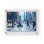 2127D Double Panel Acrylic Wall Frame 21x27