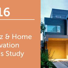 2016 U.S. Houzz & Home Study: Annual Renovation Trends