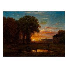 """Late Sunset"" Art, 30""x22"""