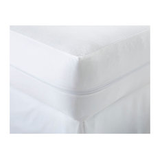 Becky Cameron Bed Bug Proof Zippered Mattress Protector, Twin, White