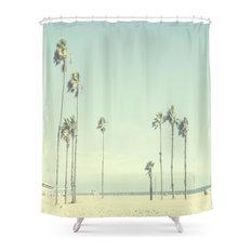 Venice Beach Palms Shower Curtain
