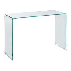 Acrylic Sofa Table in Clear