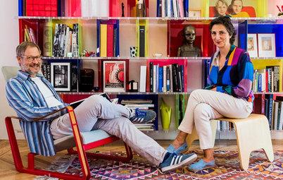 En casa de… Belén Moneo: Una vivienda racionalista llena de color