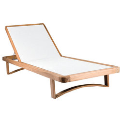 Transitional Outdoor Chaise Lounges by OASIQ