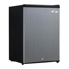 2.1 cu.ft. Upright Freezer with Energy Star, Stainless Steel